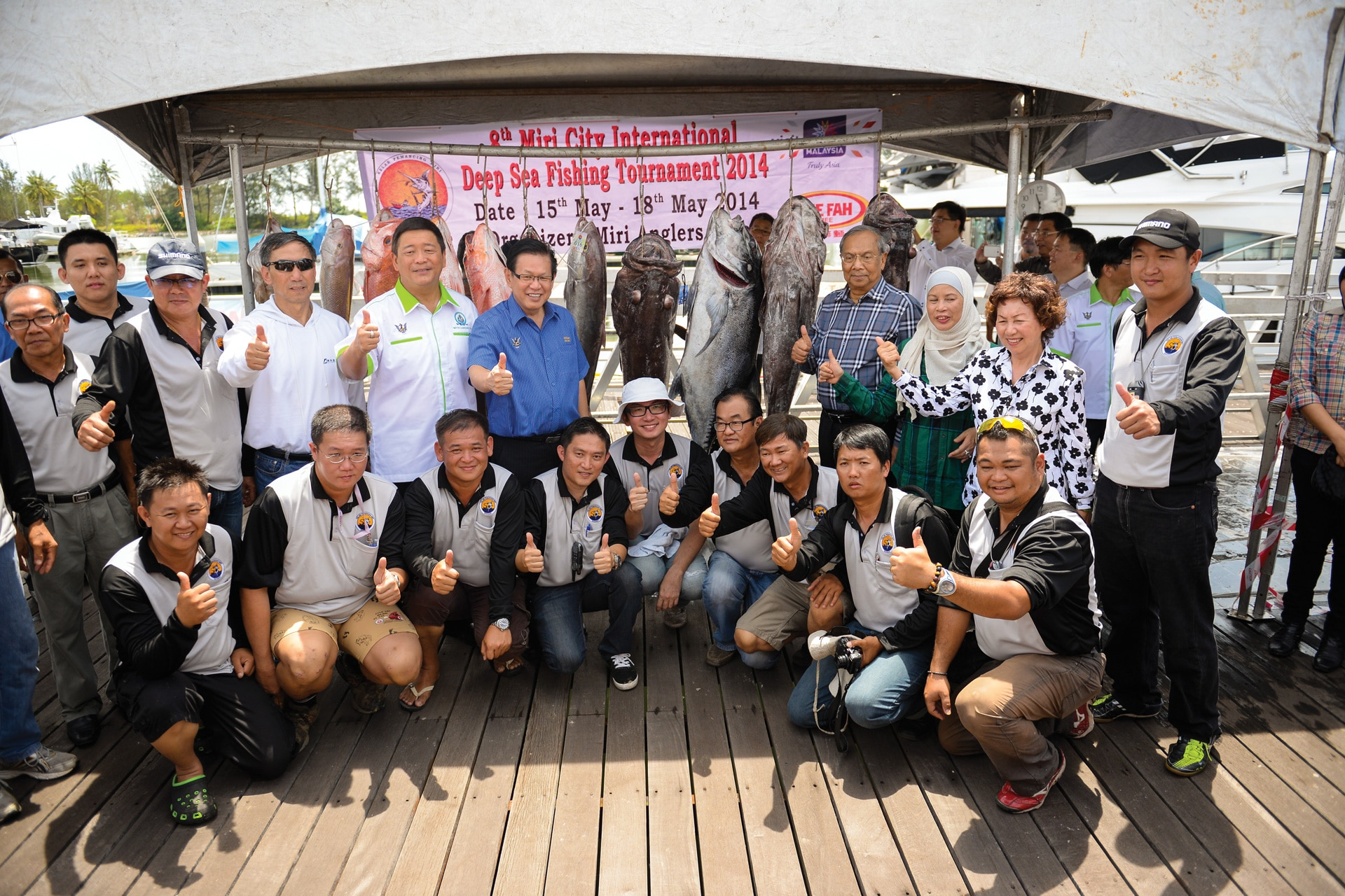 Miri City Deep Sea Fishing Tournament