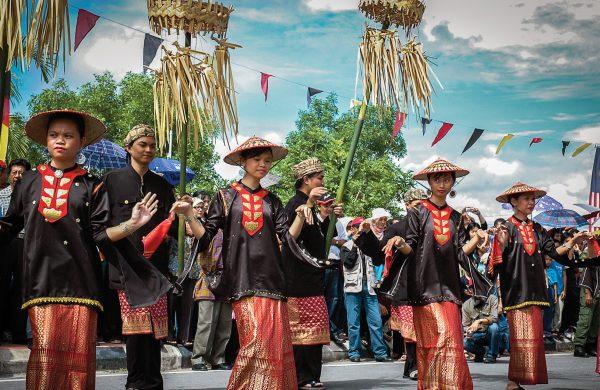 Weekend in Mukah for Pesta Kaul
