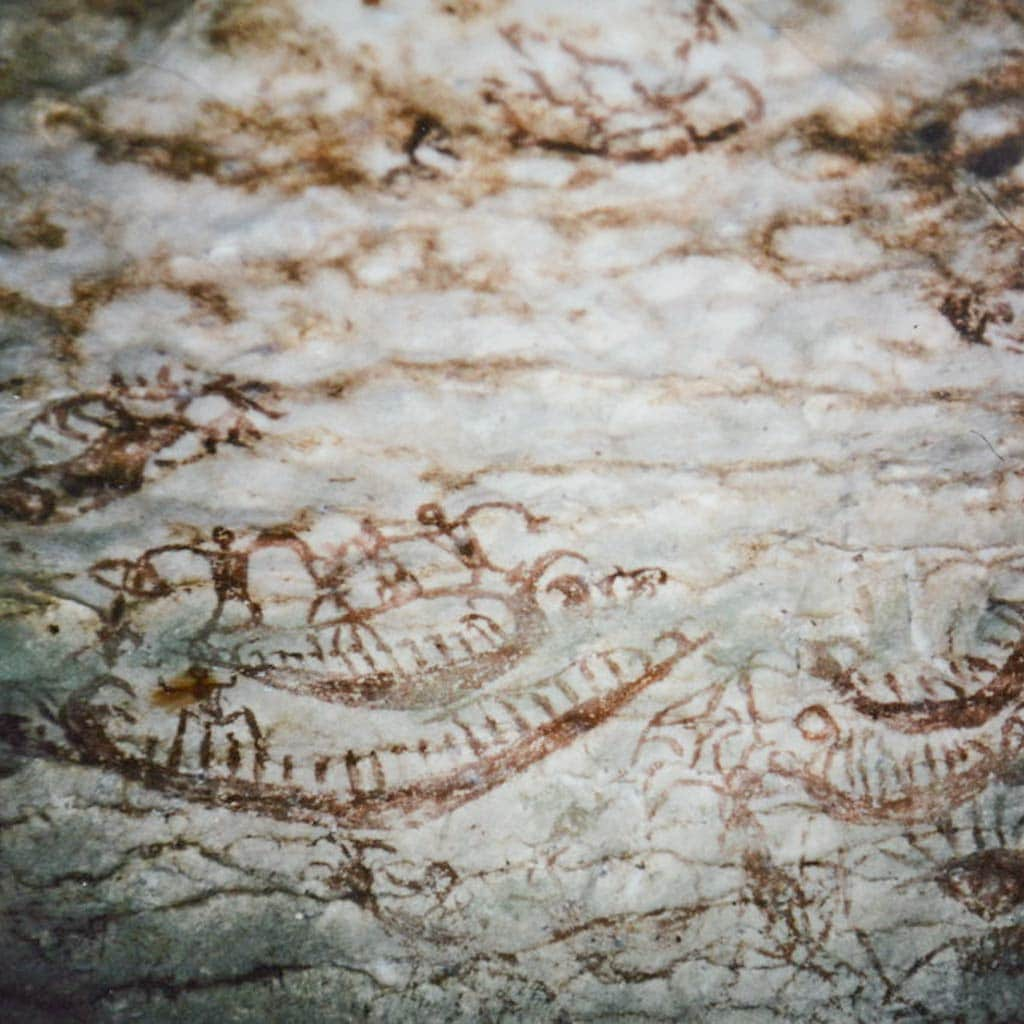 famous Niah cave paintings