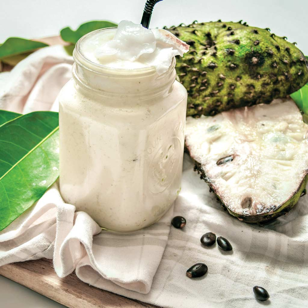 recipes make from durian belanda or soursop