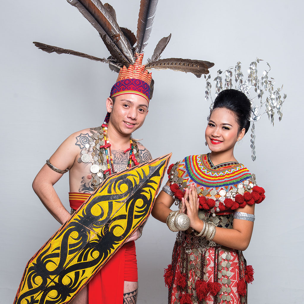 Sarawak Culture Defined Through Traditional Clothing Borneotalk