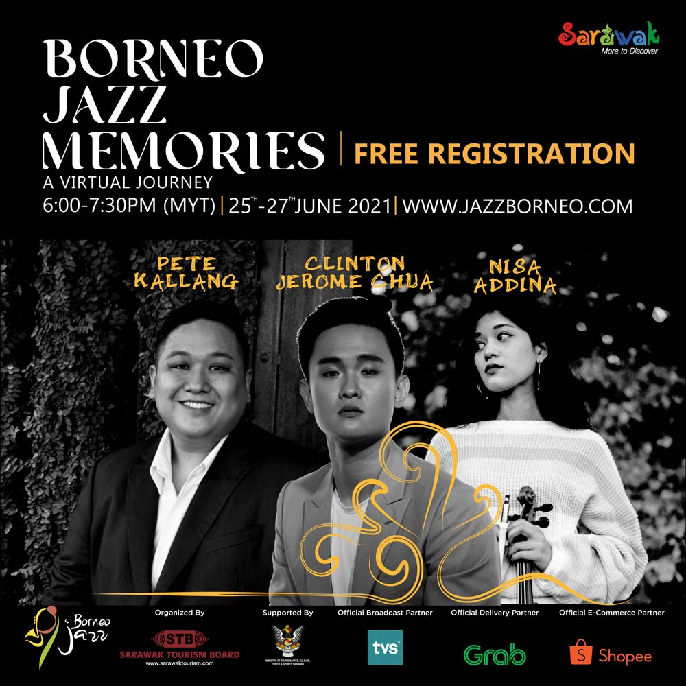 Join Borneo Jazz Memories 2021 for FREE this weekend