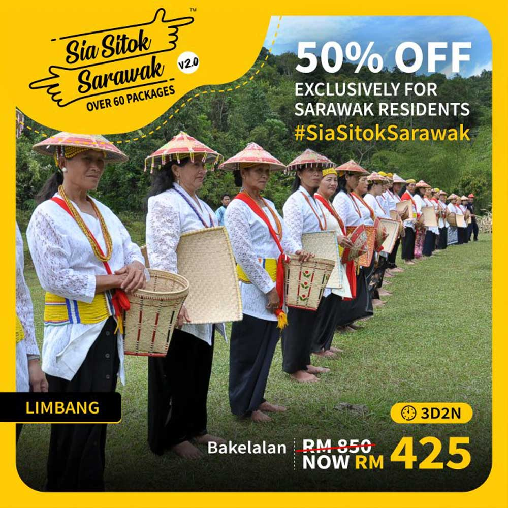Travel Packages Offered in Sia Sitok Sarawak 2.0 - Bakelalan (3D2N)